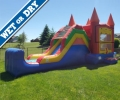 Rental store for Castle Water Slide - Bounce House in Cedar Rapids IA